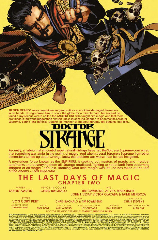 Doctor Strange #7 Page 1