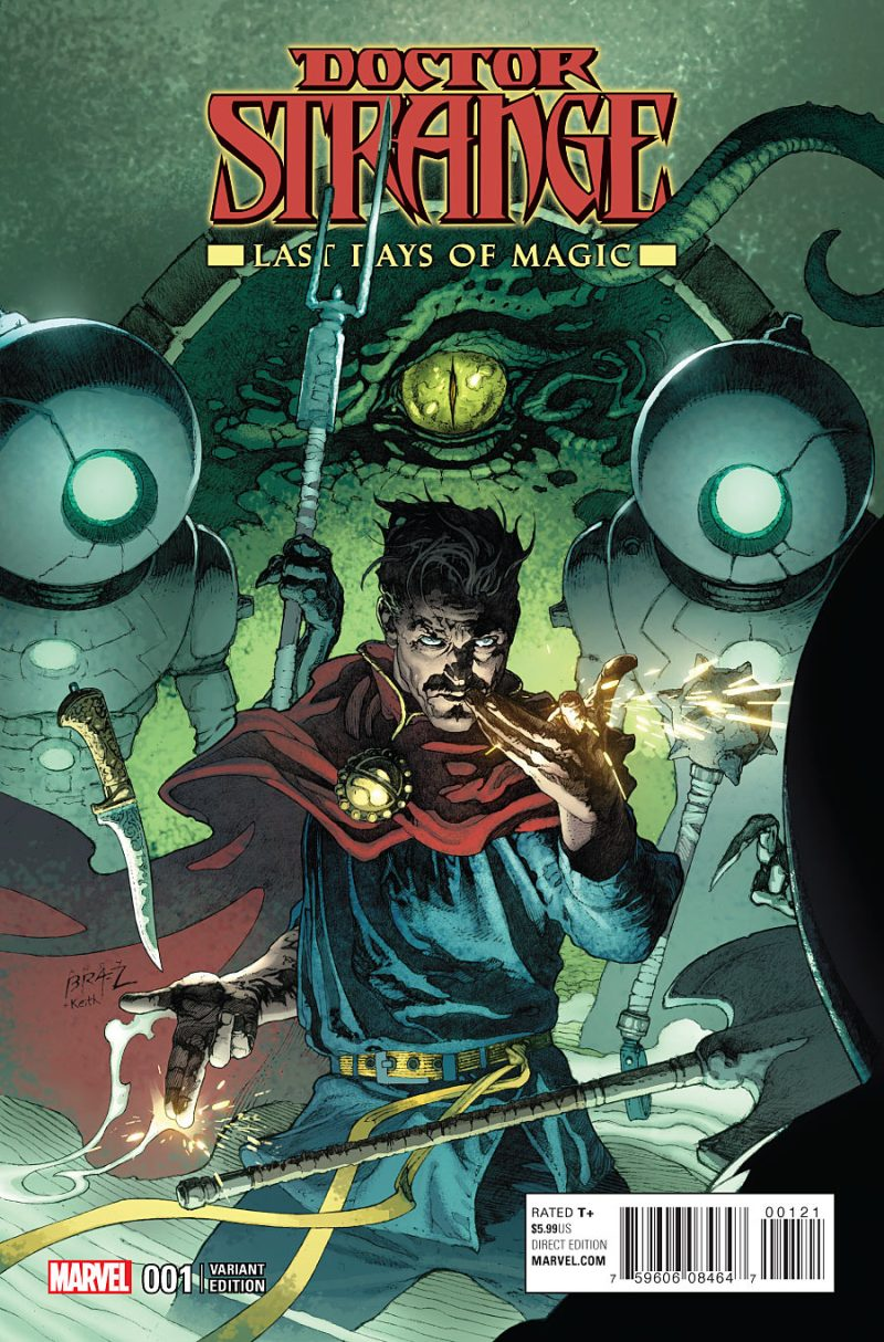 Doctor Strange - Last Days of Magic #1 Cover 2