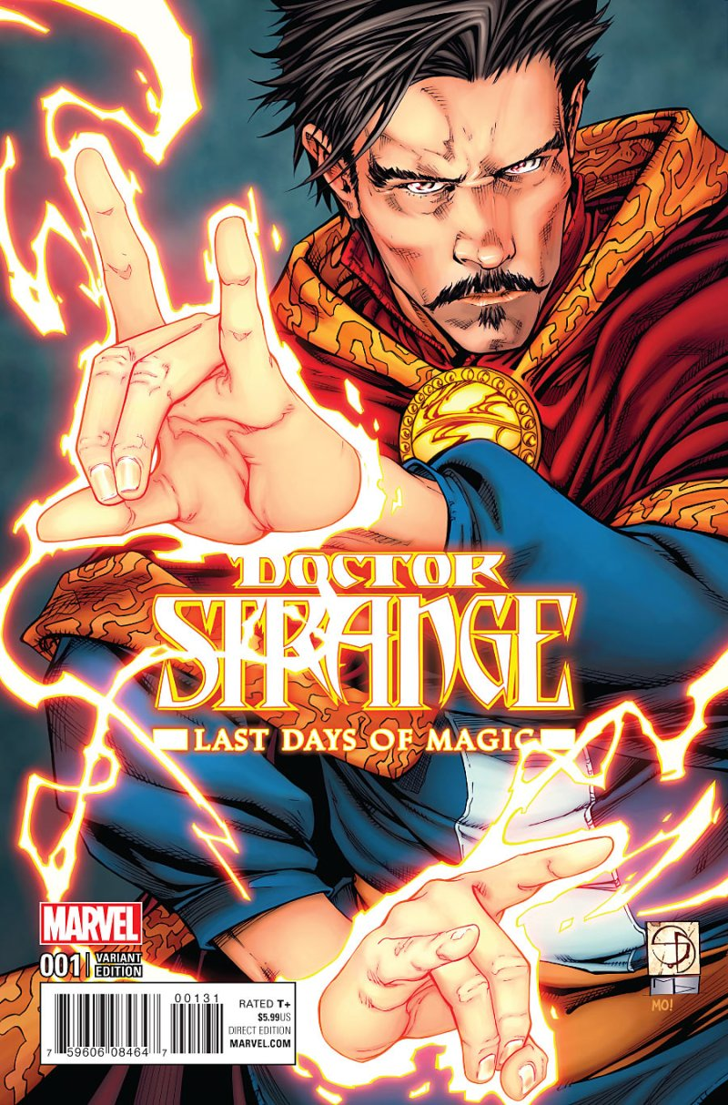 Doctor Strange - Last Days of Magic #1 Cover 3