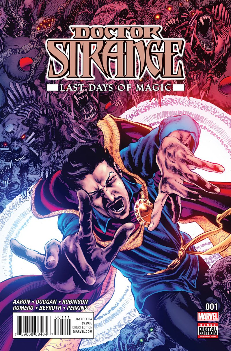 Doctor Strange - Last Days of Magic #1 Cover