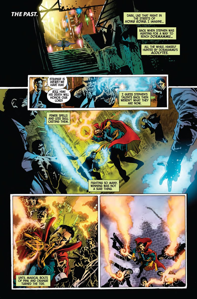 Doctor Strange - Last Days of Magic #1 Page 7