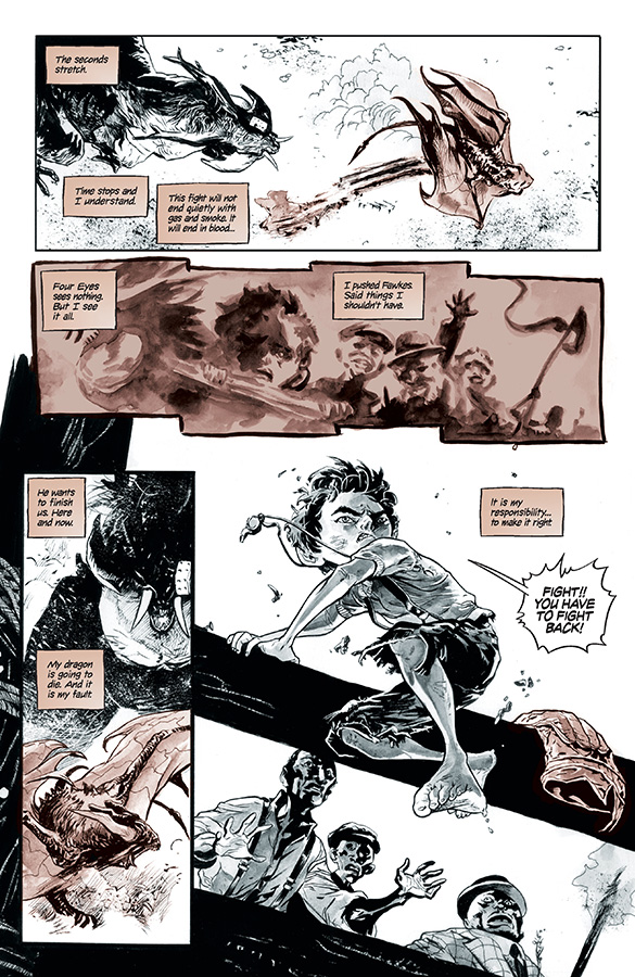 Four Eyes Hearts of Fire #4 Page 2