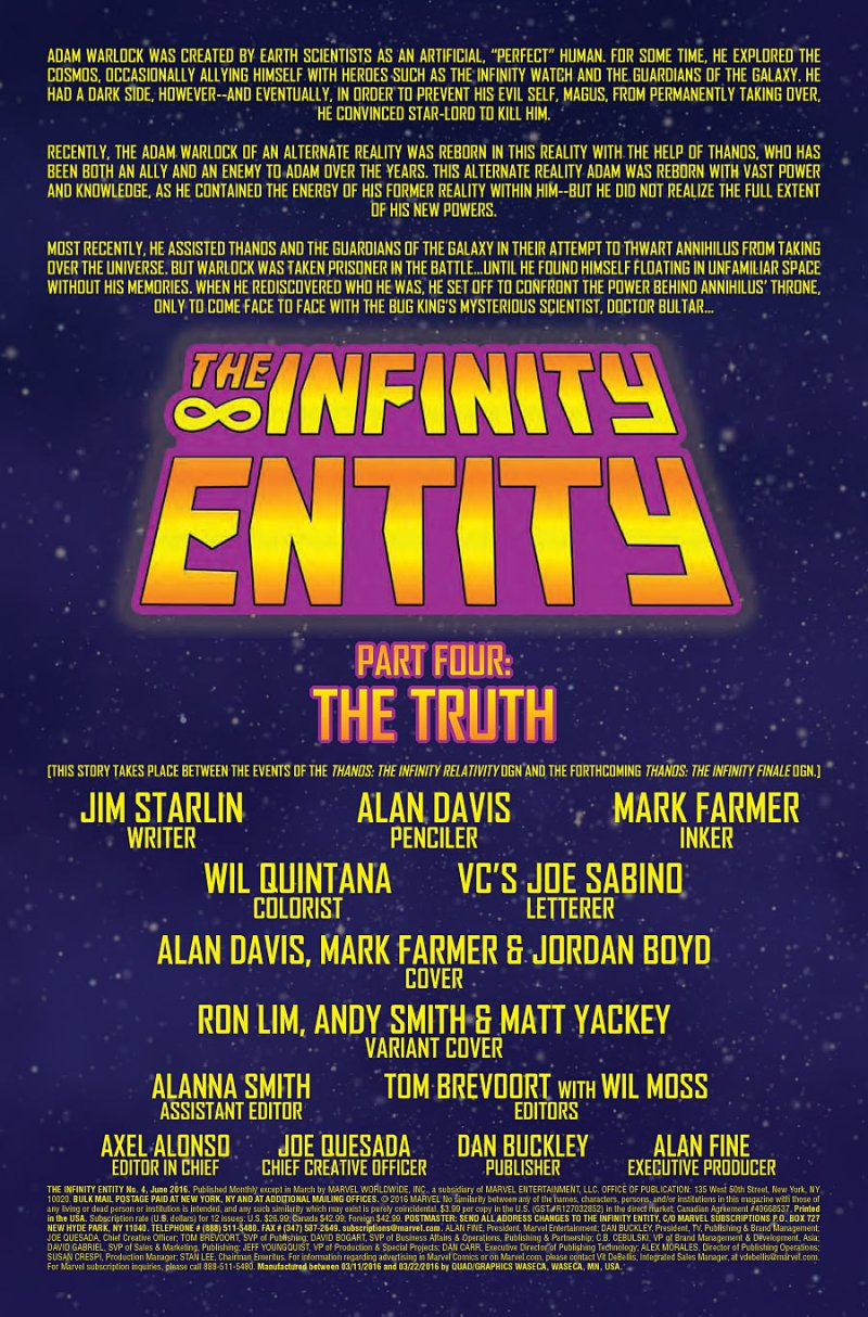 Infinity Entity #4 page 1
