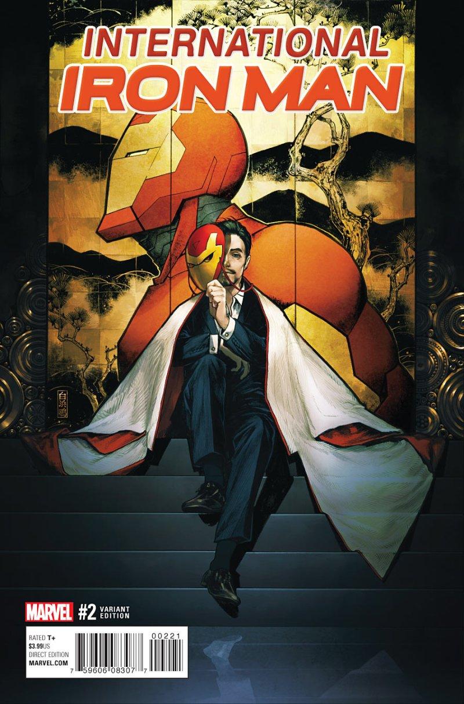 International Iron Man #2 Cover 2