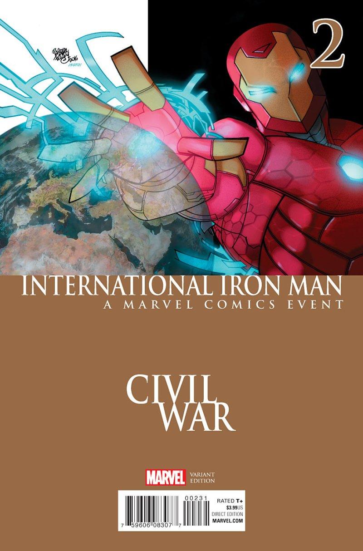 International Iron Man #2 Cover 3