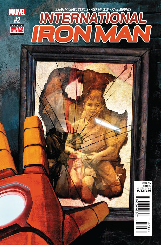 International Iron Man #2 Cover
