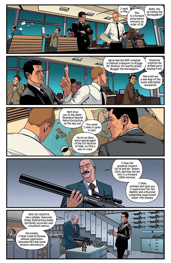 James Bond #6 Page 1