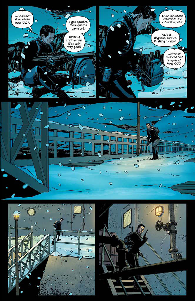 James Bond #6 Page 5