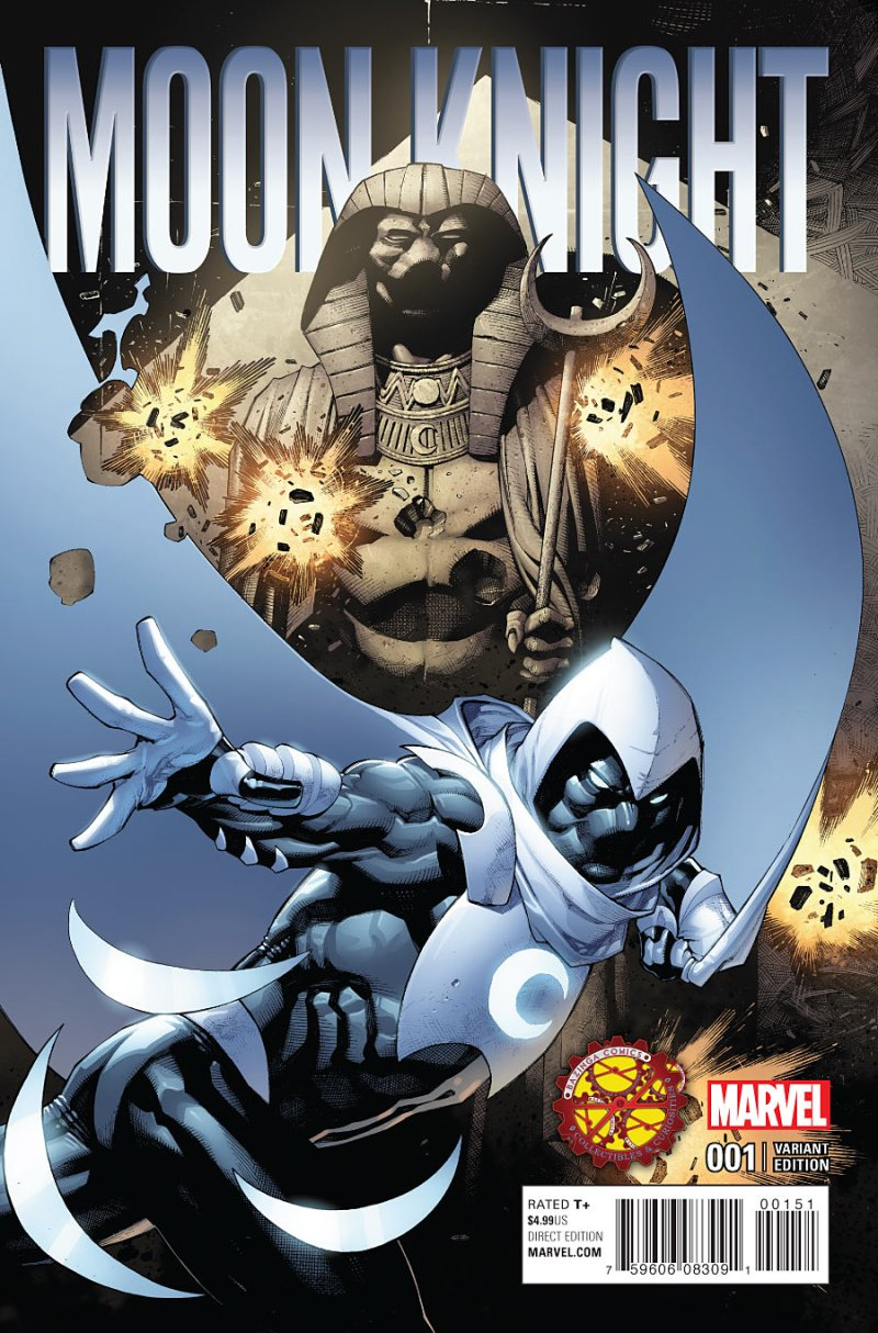 Moon Knight #1 Cover 2