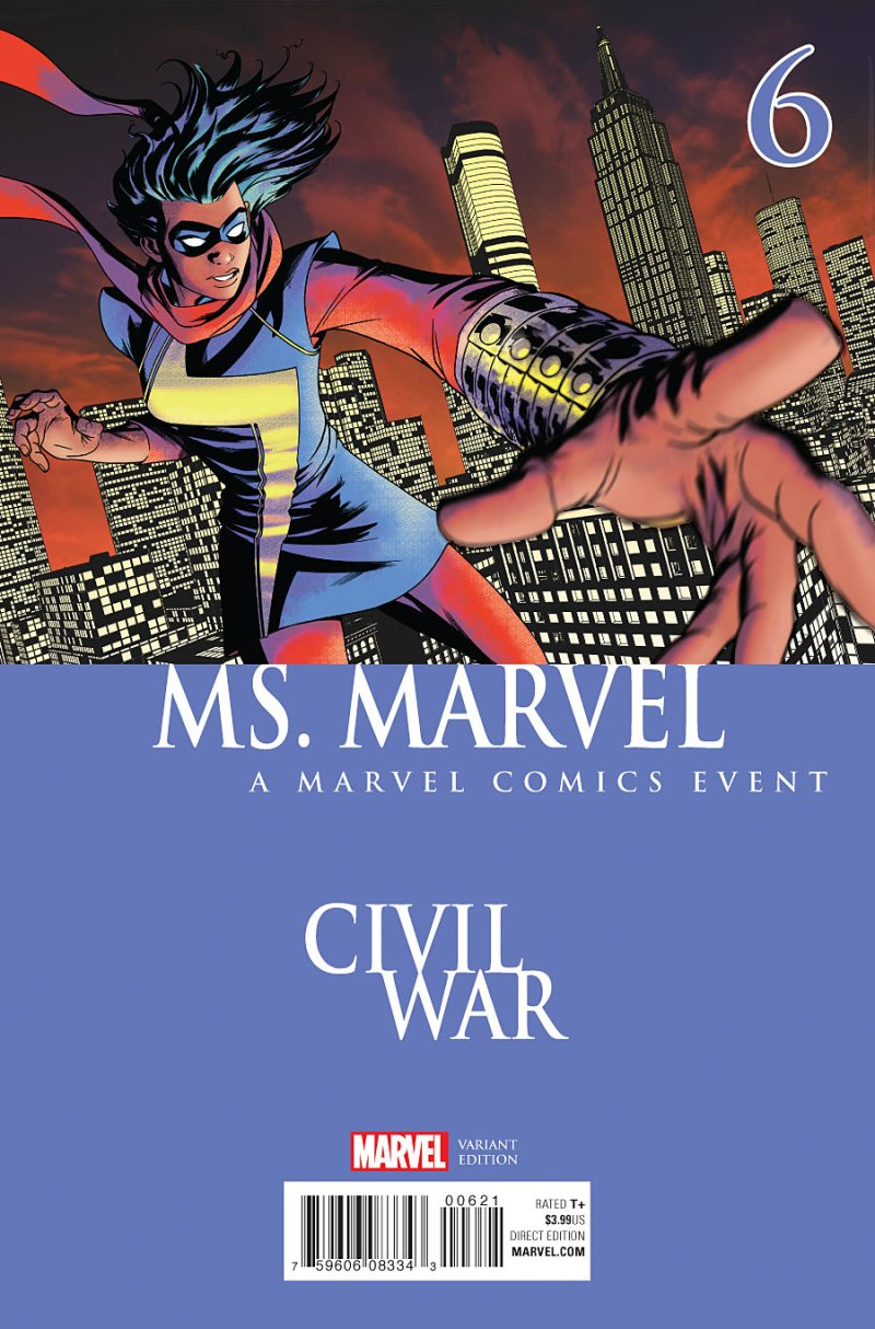 Ms Marvel #6 Cover 2