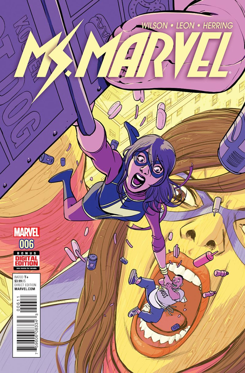 Ms Marvel #6 Cover
