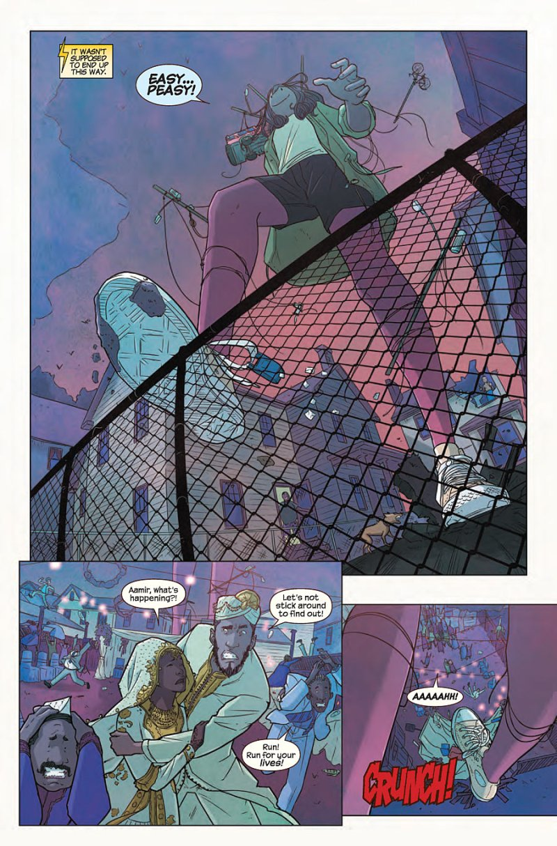 Ms Marvel #6 Page 1