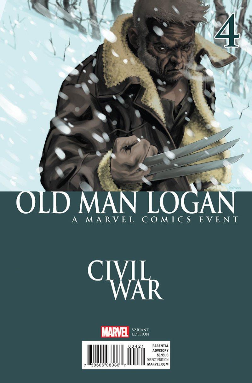 Old Man Logan #4 Cover 2