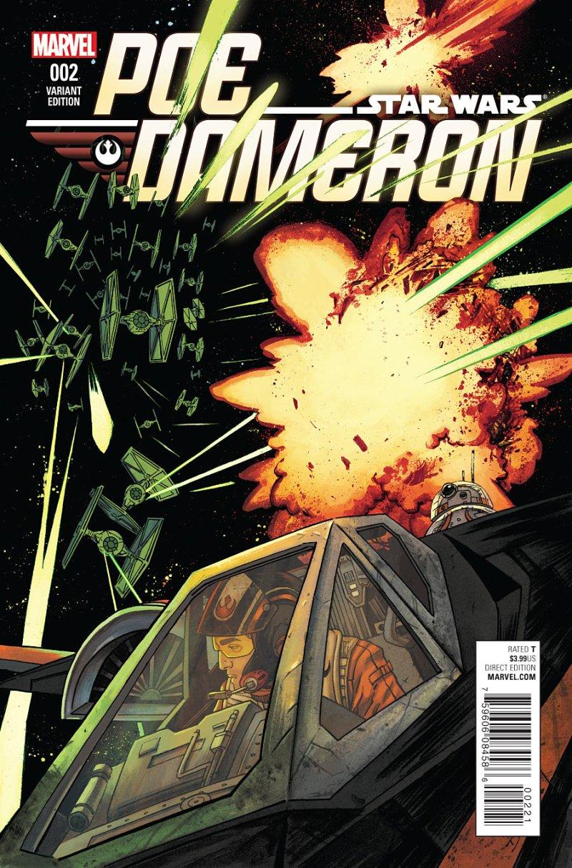Poe Dameron #2 Cover 2