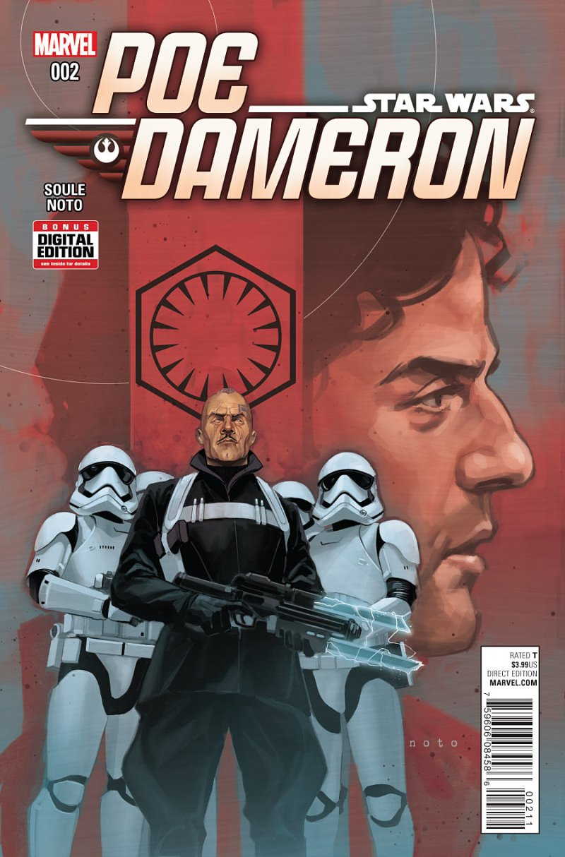 Poe Dameron #2 Cover