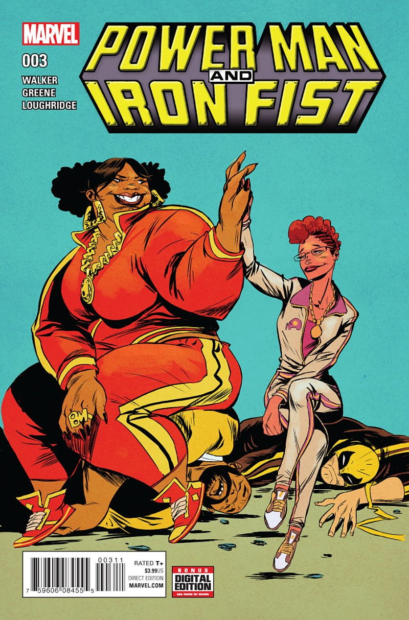 Power Man and Iron Fist #3 Cover