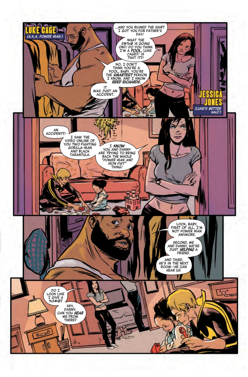 Power Man and Iron Fist #3 Page 2