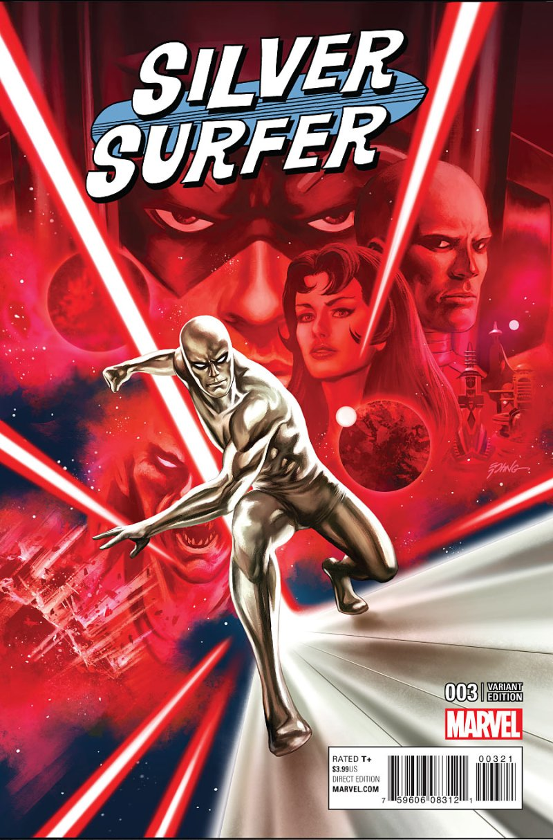 Silver Surfer #3 cover 2
