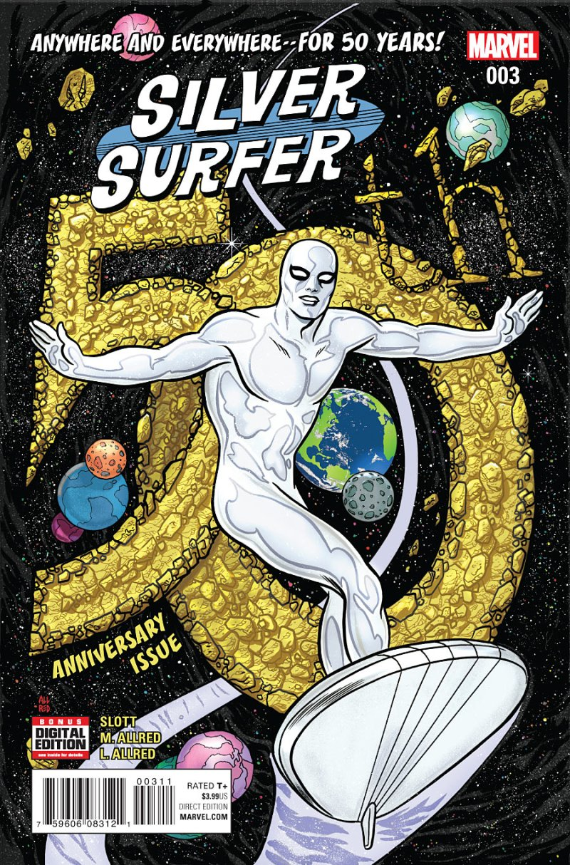 Silver Surfer #3 cover