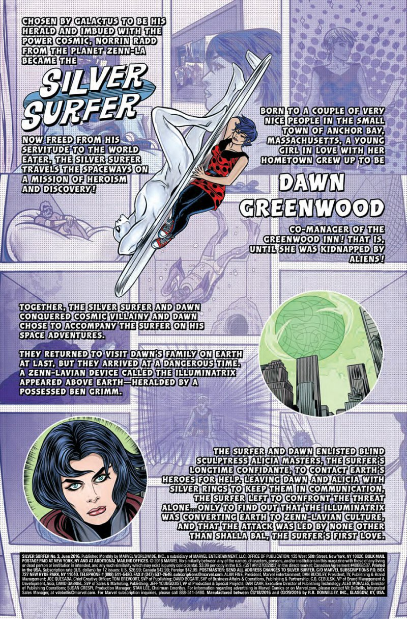 Silver Surfer #3 page 1