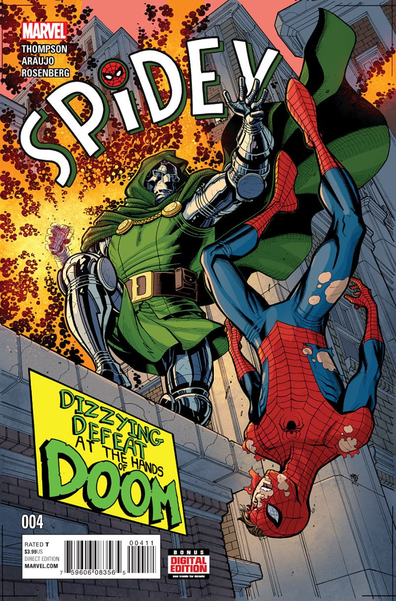 Spider #4 Cover