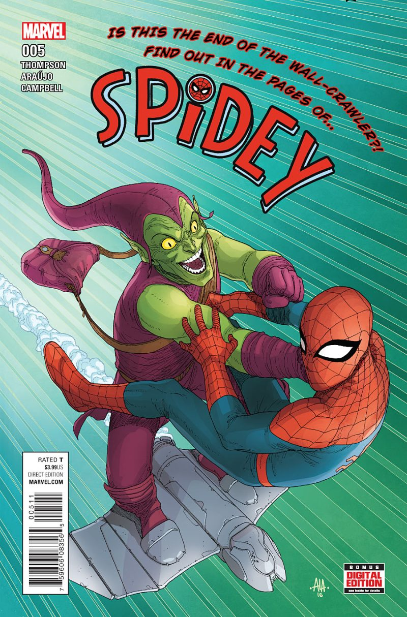Spidey #5 Cover