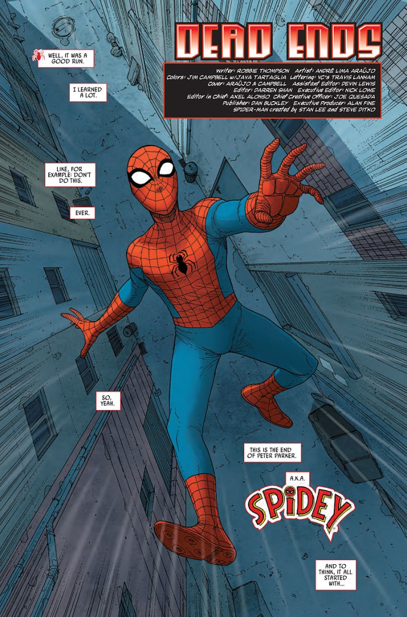 Spidey #5 Page 1