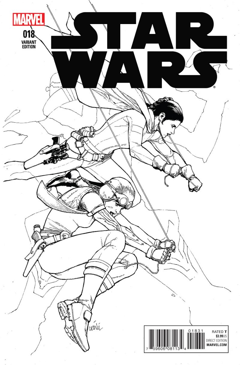 Star Wars #18 Cover 2