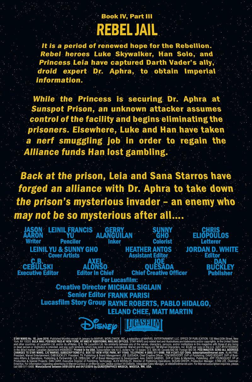 Star Wars #18 Page 1