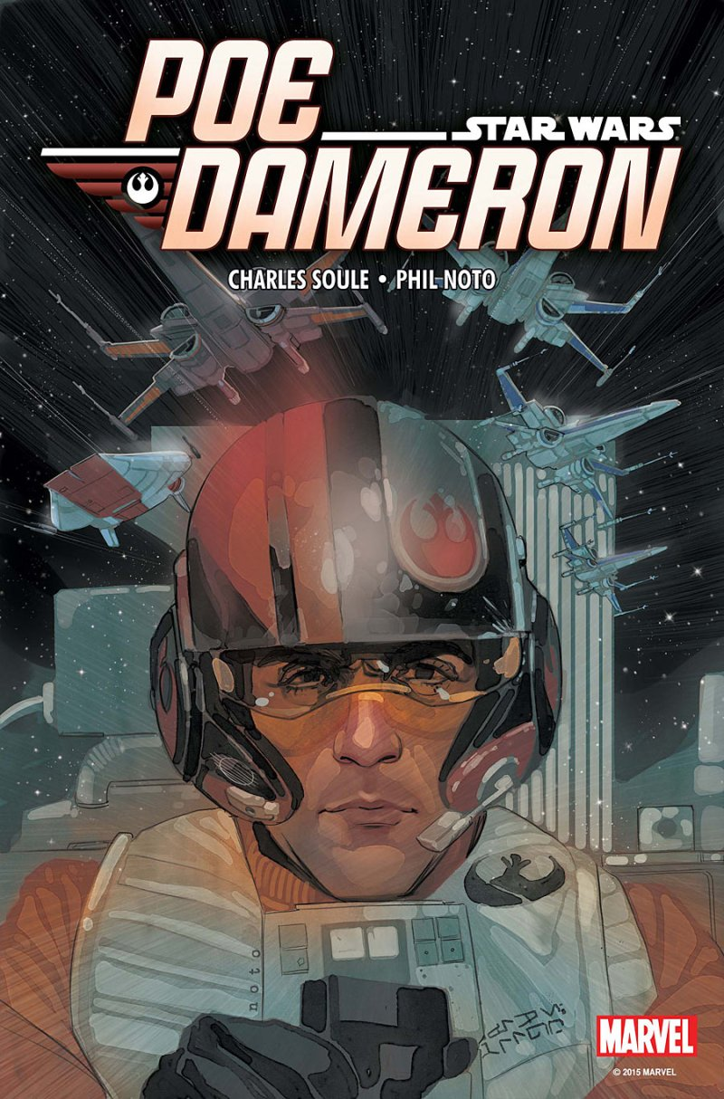 Star Wars- Poe Dameron #1 Cover