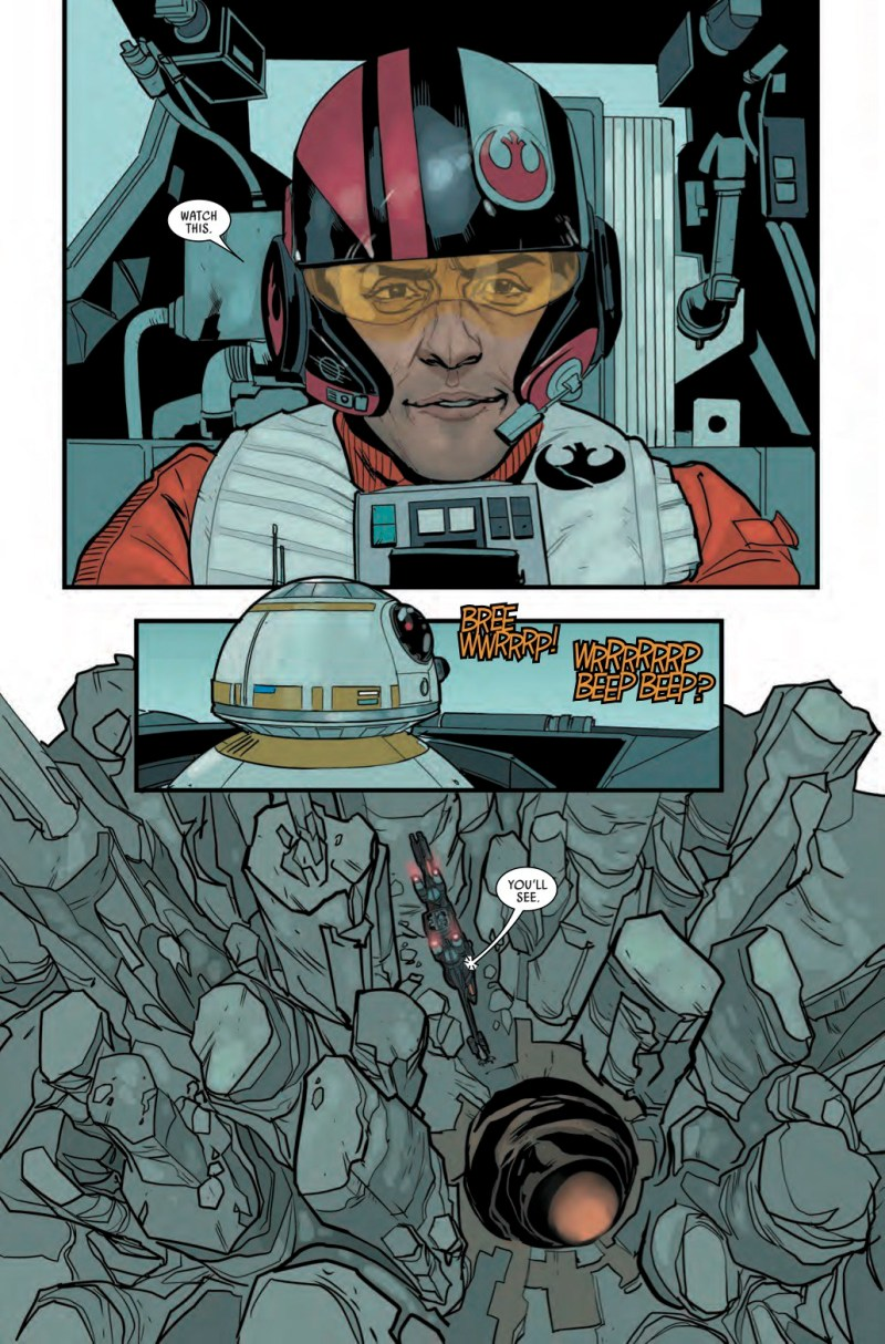 Star Wars- Poe Dameron #1 Page 1