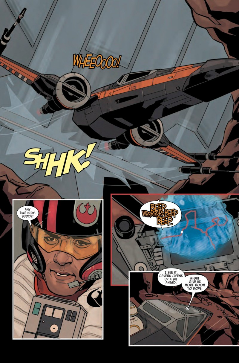 Star Wars- Poe Dameron #1 Page 2