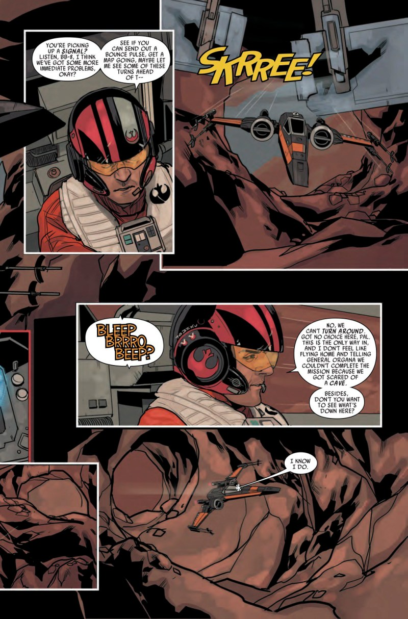 Star Wars- Poe Dameron #1 Page 3