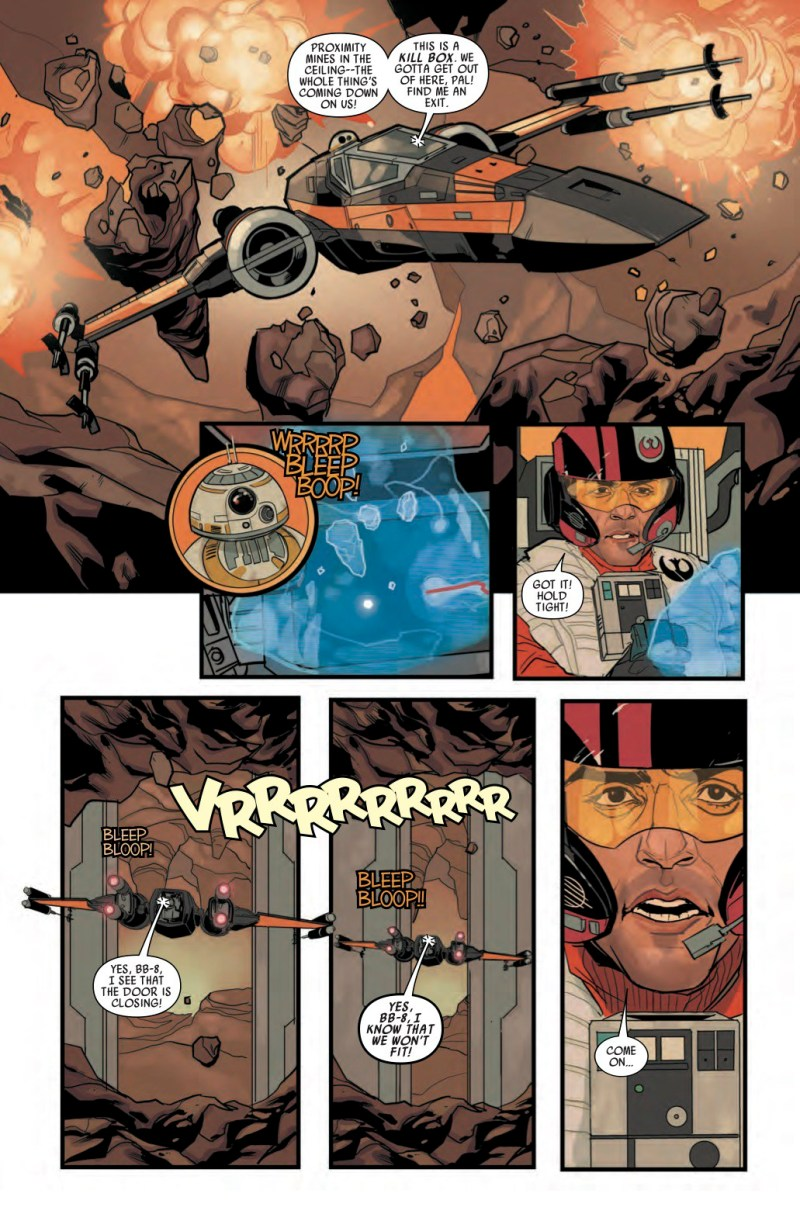 Star Wars- Poe Dameron #1 Page 5