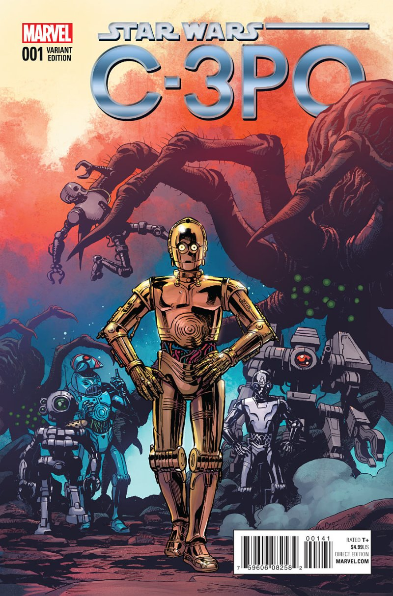 Star Wars Special C3PO #1 Cover 3