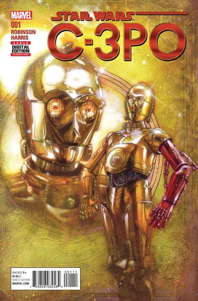 Star Wars Special C3PO #1 Cover