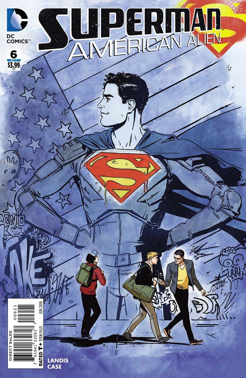 Superman- American Alien #6 cover 2