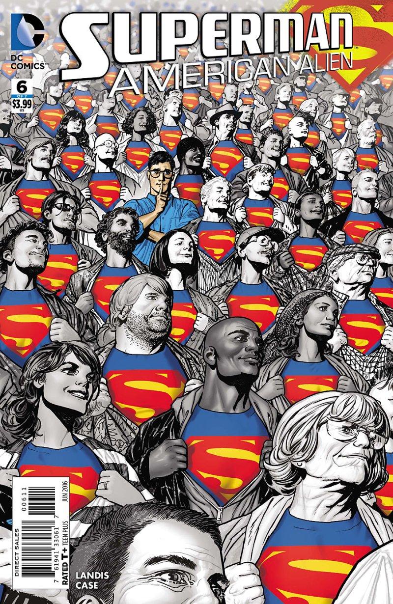 Superman- American Alien #6 cover