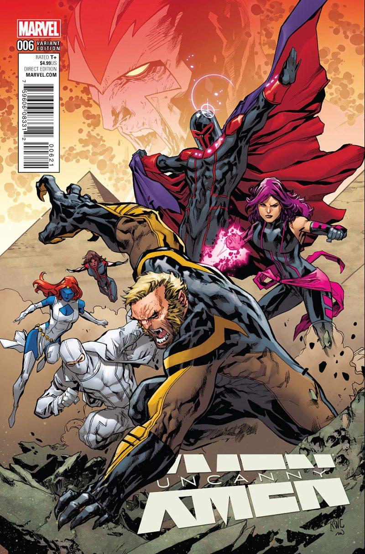 Uncanny X-Men #6 Cover 2
