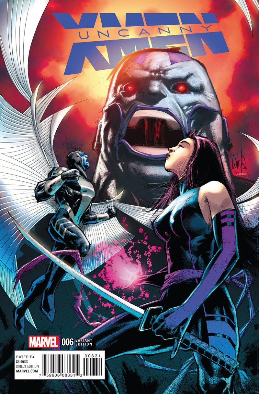 Uncanny X-Men #6 Cover 3