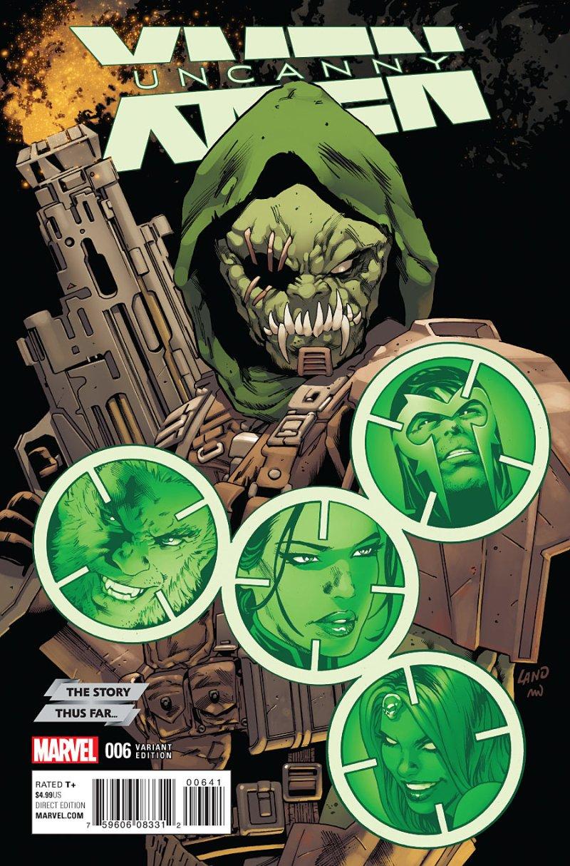 Uncanny X-Men #6 Cover 4