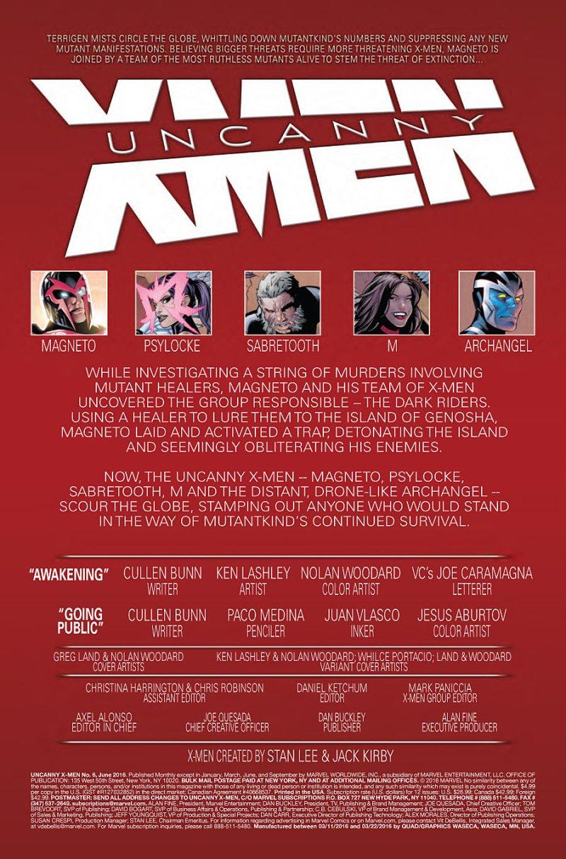 Uncanny X-Men #6 Page 1
