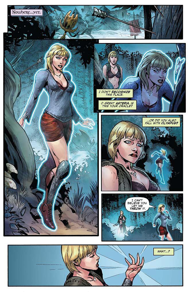 Xena #1 Page 1