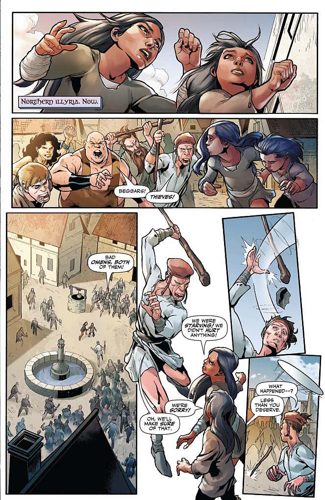 Xena #1 Page 3
