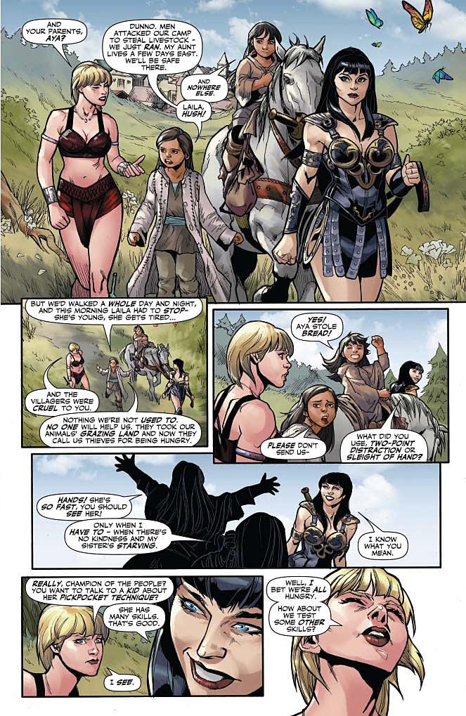Xena #1 Page 5