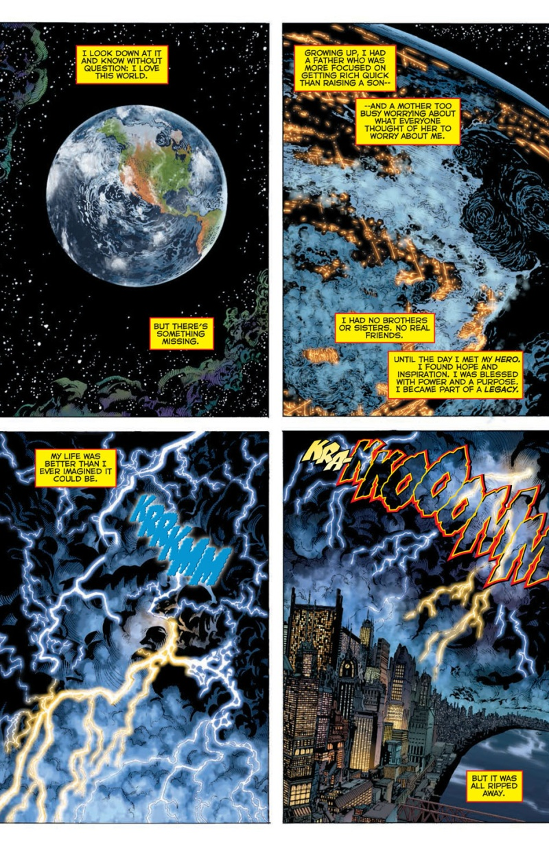 DC Comic Rebirth #1 Page 1