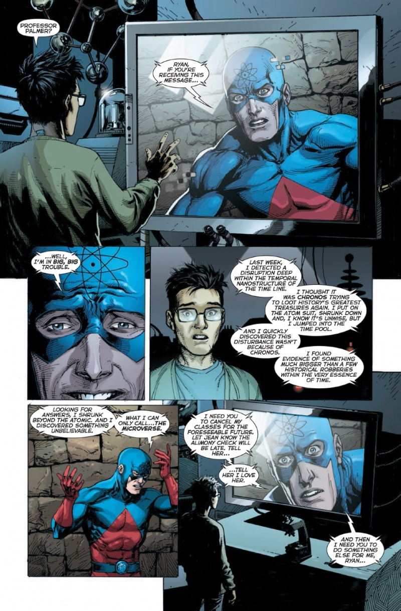 DC Comic Rebirth #1 Page 4