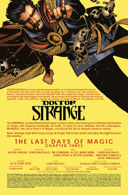 Doctor Strange #8 Page 1