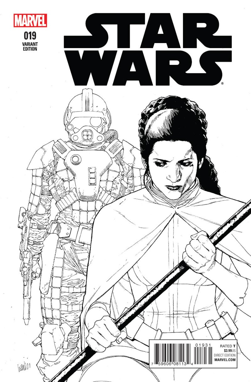 Star Wars #19 Cover 3