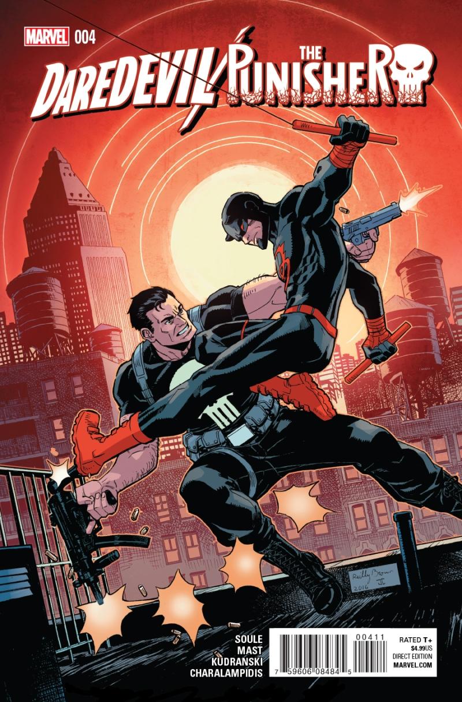 Daredevil Punisher #4 Cover